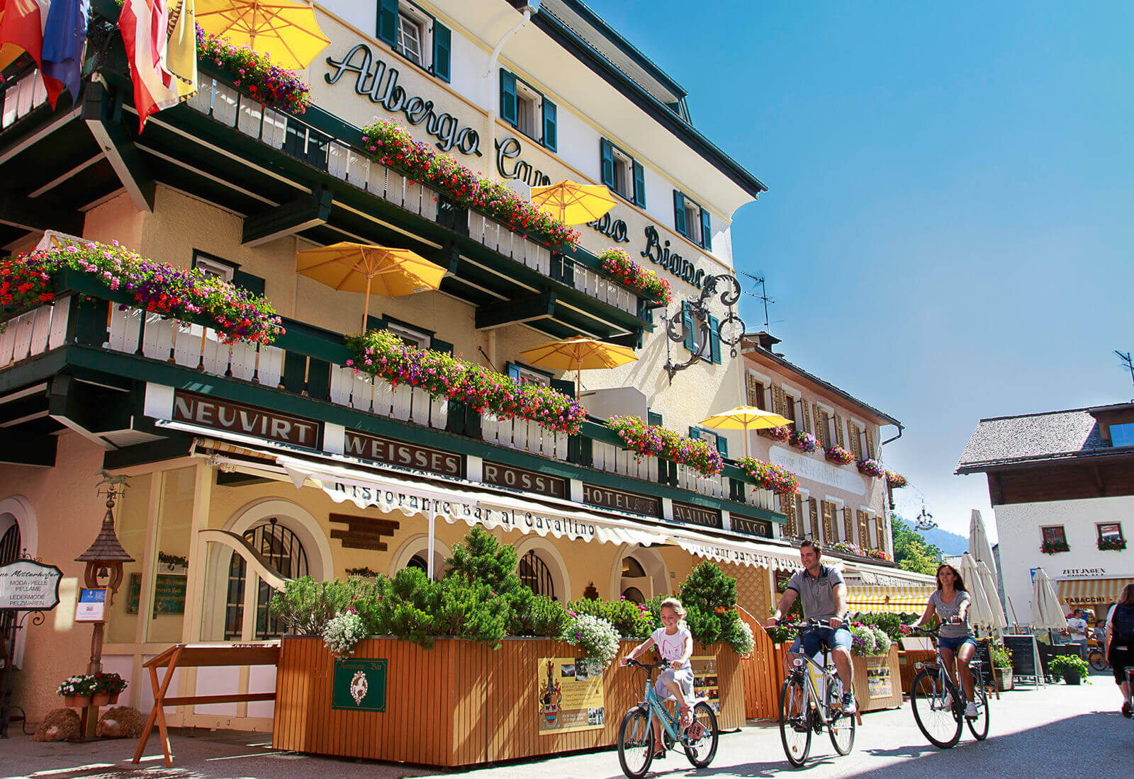 Family Hotel 4 Stelle S a San Candido - Cavallino Bianco
